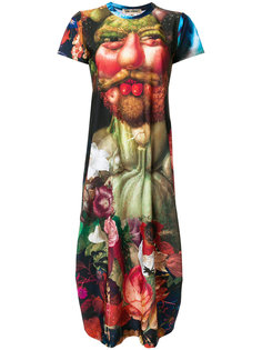 платье-футболка с принтом Renaissance Comme Des Garçons