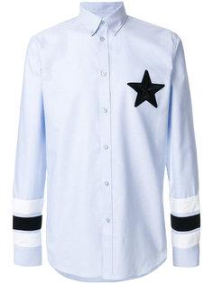 рубашка с аппликацией Givenchy