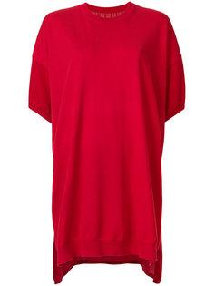 платье-футболка в стиле оверсайз  Mm6 Maison Margiela