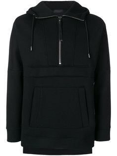 zipped down collar hoodie  Diesel Black Gold
