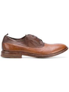 туфли на шнуровке в стиле casual Moma