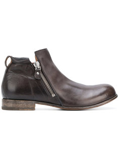ботинки на молнии Moma