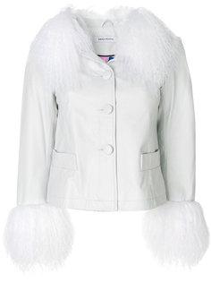 куртка с отделкой из овчины  Saks Potts