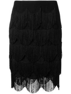юбка с бахромой Marc Jacobs