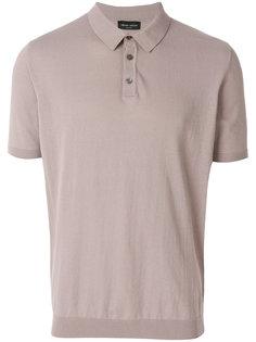 рубашка-поло в стиле casual Roberto Collina