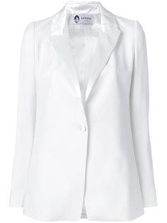 пиджак с атласными лацканами  Lanvin