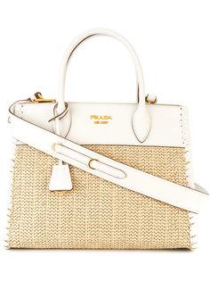 маленькая сумка-тоут Paradigme Prada