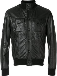 байкерская куртка на пуговицах Orciani