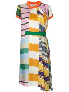 платье с поясом Kolor