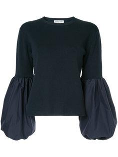 свитер с рукавами-блузон Muveil
