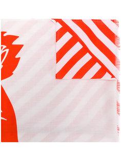 шарф с принтом Tiger Kenzo