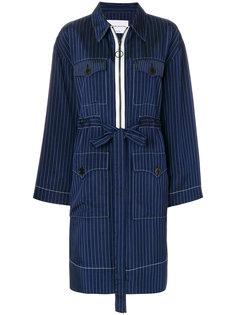 pinstriped coat Sonia Rykiel