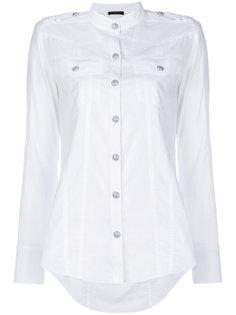 рубашка с тиснением на пуговицах Balmain