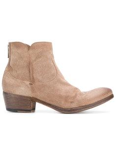 ботинки на молнии Pantanetti