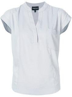"блузка с воротником-""мандарин"" Emporio Armani"