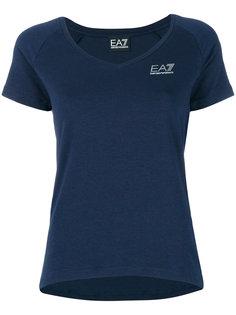 футболка с принтом логотипа Ea7 Emporio Armani