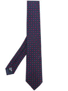 галстук с геометрическим принтом  Emporio Armani