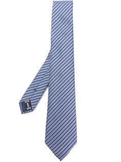 классический галстук в полоску  Emporio Armani