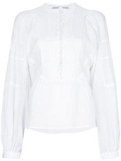 блузка с нагрудником Ermanno Scervino