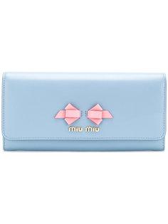 кошелек с логотипом Miu Miu