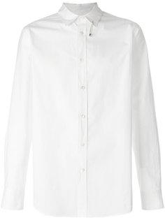 рубашка с булавкой на воротнике Sacai