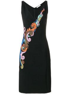 платье с вышивкой Versace Collection