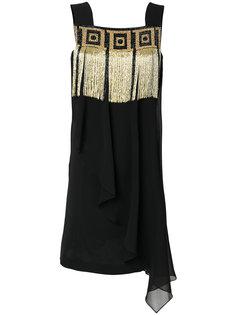 платье с бахромой  Versace Collection