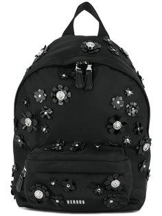 рюкзак с цветочным украшением Versus