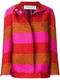 куртка в полоску с блестками  Gianluca Capannolo