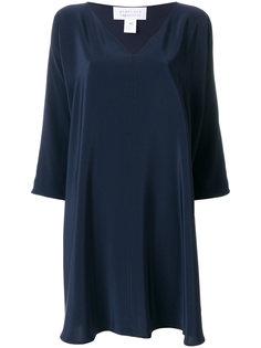 платье с глубоким V-образным вырезом  Gianluca Capannolo