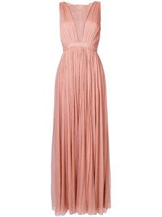 шифоновое платье с завышенной талией Nº21