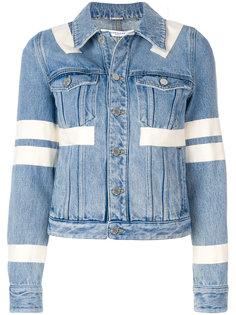 декорированная куртка с полосатым принтом Givenchy