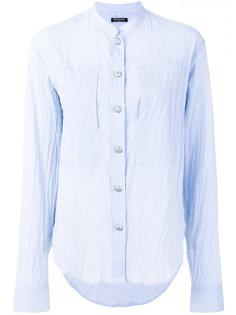 рубашка с мятым эффектом Balmain