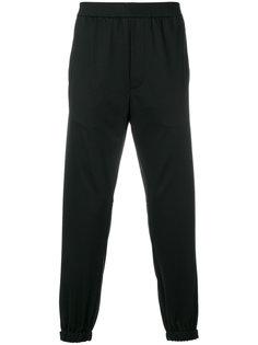 прямые спортивные брюки Prada