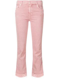 джинсы скинни кроя слим 7 For All Mankind