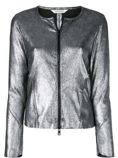 куртка металлик на молнии Giorgio Brato