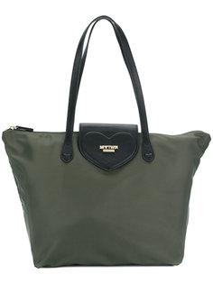 сумка-тоут с бляшкой с логотипом Twin-Set