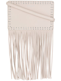 сумка на плечо с заклепками и бахромой Twin-Set