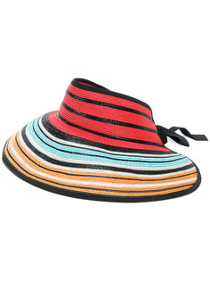 полосатая шляпа-визор Missoni