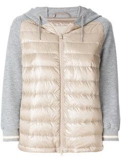 стеганая куртка-бомбер Herno