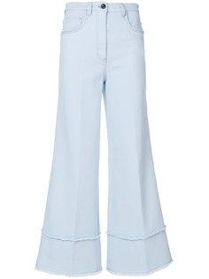 широкие джинсы  Miu Miu