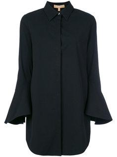 длинная рубашка с рукавами клеш  Michael Kors