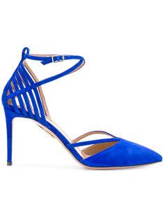 туфли-лодочки с вырезными деталями Aquazzura