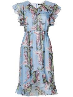 платье с тропическим принтом  Steffen Schraut