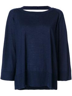 блузка с длинными рукавами Prada