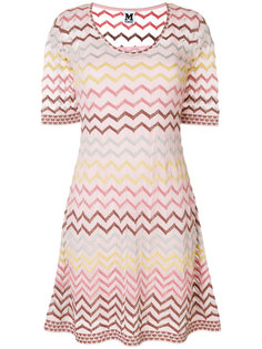 платье с узором зигзаг  M Missoni