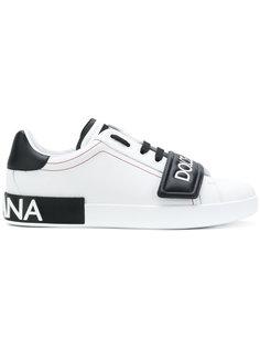 кроссовки с логотипом на ремешке Dolce & Gabbana
