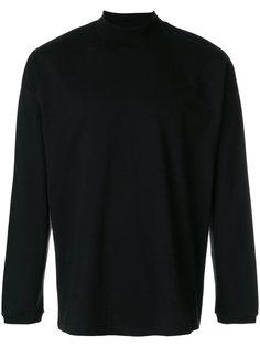 приталенный свитер с воротником-воронкой Martine Rose