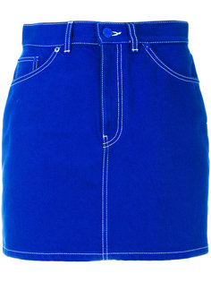 джинсовая мини-юбка  Givenchy