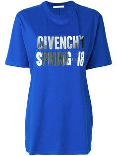 футболка с логотипом  Givenchy